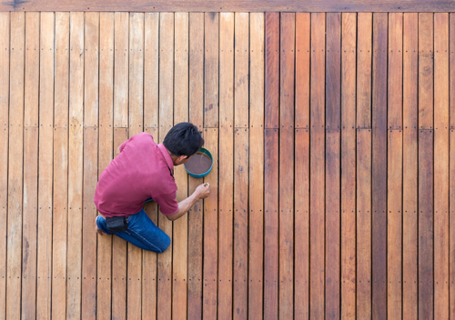Deck Staining, Painting, Power Wash in Westchester NY